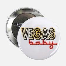 """Vegas Baby 2.25"""" Button"""