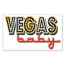Vegas Baby Decal