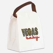 Vegas Baby Canvas Lunch Bag