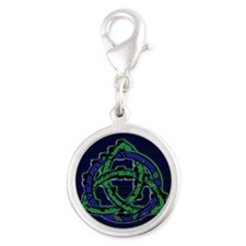 Abstract Triquetra Charms