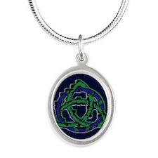 Abstract Triquetra Necklaces
