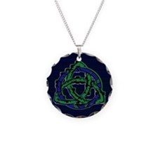 Abstract Triquetra Necklace