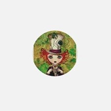 Lady Hatter Mini Button