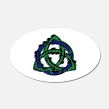 Abstract Triquetra Wall Decal