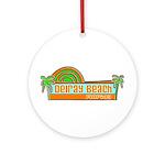 Delray Beach, Florida Ornament (Round)