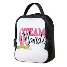 team mandi Neoprene Lunch Bag