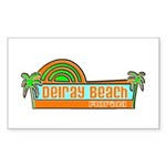 Delray Beach, Florida Rectangle Sticker
