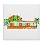 Delray Beach, Florida Tile Coaster