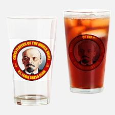 Lenin Chess Club IV.bmp Drinking Glass