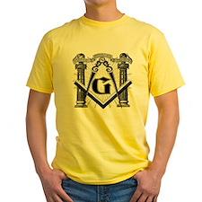 Compass and Pillars Shir T-Shirt