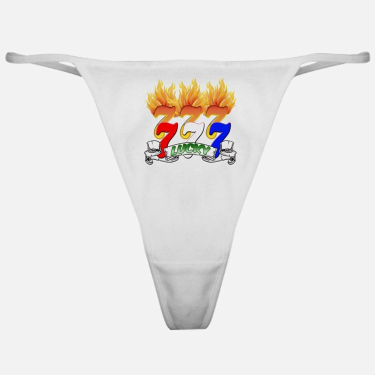 Lucky Sevens Classic Thong