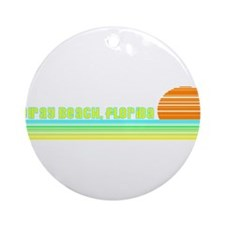 Delray Beach, Florida Ornament (Round)