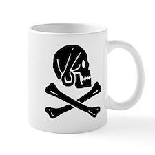 Henry Every Jolly Roger:Pirate Flag Black Mugs
