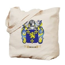 Walls Family Crest (Coat of Arms) Tote Bag