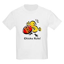 Easter Chick, Chicks Rule! Kids T-Shirt
