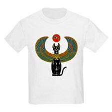 Ornate Eqyptian Cat Godess T-Shirt