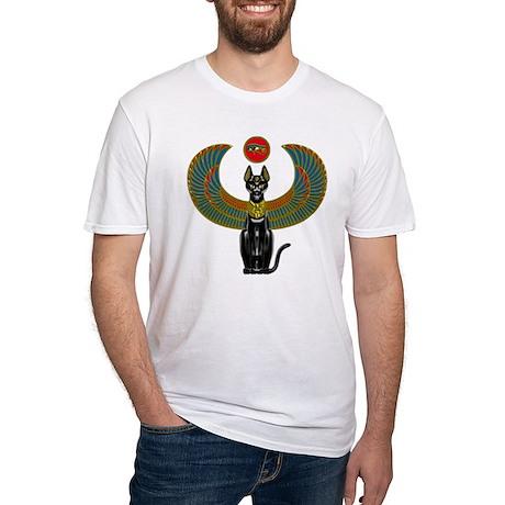 Ornate Eqyptian Cat Godess T-Shirt