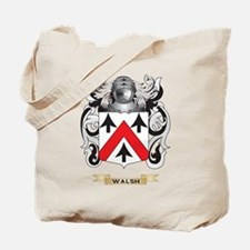 Walsh Family Crest (Coat of Arms) Tote Bag