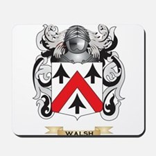 Walsh Family Crest (Coat of Arms) Mousepad