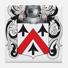 Walsh Family Crest (Coat of Arms) Tile Coaster