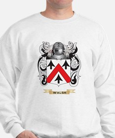 Walsh Family Crest (Coat of Arms) Sweatshirt