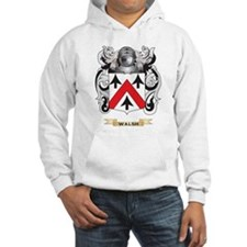 Walsh Family Crest (Coat of Arms) Hoodie