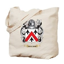 Walshe Family Crest (Coat of Arms) Tote Bag