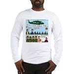 Helicopter - Tent - Drill Team Long Sleeve T-Shirt