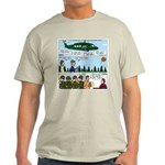 Helicopter - Tent - Drill Team Light T-Shirt