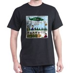 Helicopter - Tent - Drill Team Dark T-Shirt