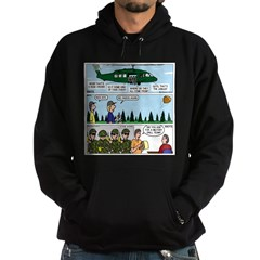 Helicopter - Tent - Drill Team Hoodie