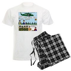 Helicopter - Tent - Drill Team Pajamas