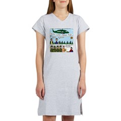 Helicopter - Tent - Drill Team Women's Nightshirt