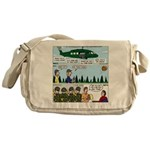 Helicopter - Tent - Drill Team Messenger Bag