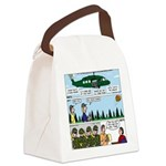 Helicopter - Tent - Drill Team Canvas Lunch Bag