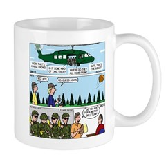 Helicopter - Tent - Drill Team Mug