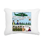 Helicopter - Tent - Drill Team Rectangular Canvas