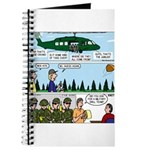 Helicopter - Tent - Drill Team Journal