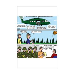 Helicopter - Tent - Drill Team Posters