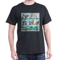 PA System - Camel - Fish T-Shirt