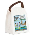 PA System - Camel - Fish Canvas Lunch Bag