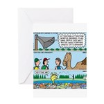 PA System - Camel - Fish Greeting Card