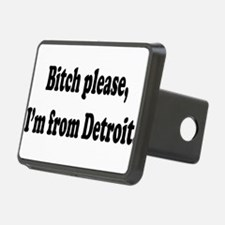 Im From Detroit Hitch Cover