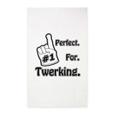#1 Perfect for Twerking 3'x5' Area Rug