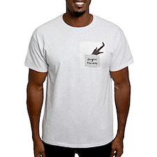 Sugar Daddy~Glider Pride Ash Grey T-Shirt