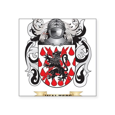 Walters Family Crest (Coat of Arms) Sticker