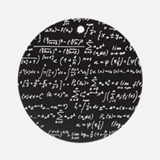Chalk/Blackboard Round Ornament