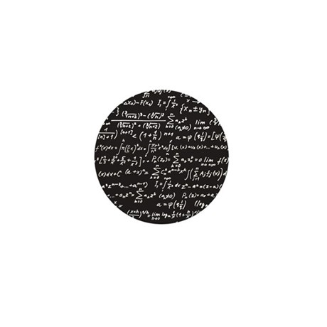 Chalk/Blackboard Mini Button