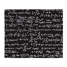 Chalk/Blackboard Throw Blanket