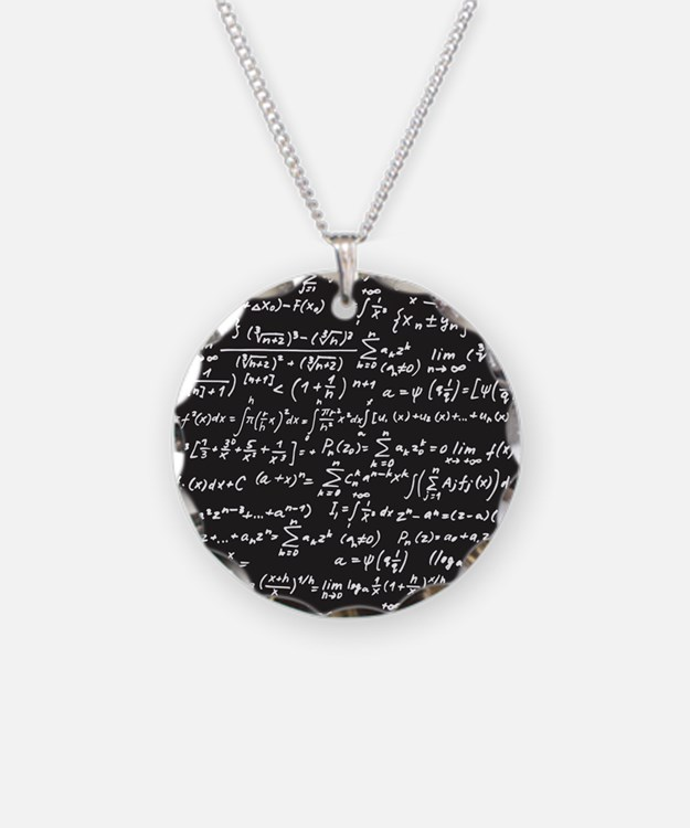 Chalk/Blackboard Necklace
